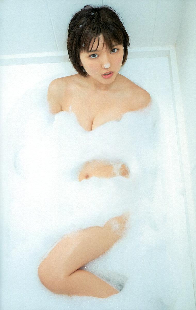 泡風呂真野恵里菜ちゃん