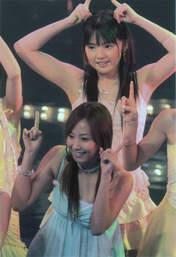 Michishige Sayumi,   Fujimoto Miki,