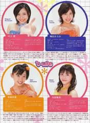 Yajima Maimi,   Umeda Erika,   Nakajima Saki,   C-ute,   Murakami Megumi,   Magazine,