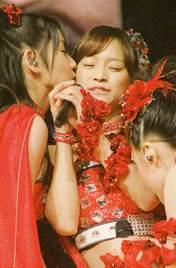 Michishige Sayumi,   Kusumi Koharu,   Kamei Eri,
