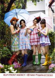 "Kusumi Koharu,   Mitsui Aika,   ""Li Chun, Junjun"",   ""Qian Lin, Linlin"","