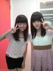 Katsuta Rina,   Hirano Tomomi,   blog,