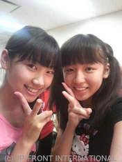 Saho Akari,   Katsuta Rina,   blog,