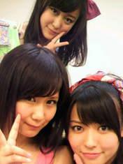 Hagiwara Mai,   Okai Chisato,   blog,