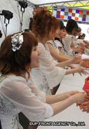 Michishige Sayumi,   Tanaka Reina,   Mitsui Aika,   Sayashi Riho,   Ikuta Erina,   Suzuki Kanon,   Takahashi Ai,