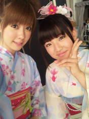 Shimizu Saki,   blog,   Suzuki Kanon,