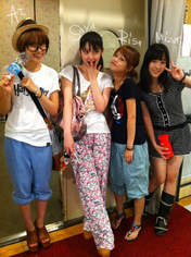 Niigaki Risa,   Michishige Sayumi,   Fukumura Mizuki,   blog,   Takahashi Ai,