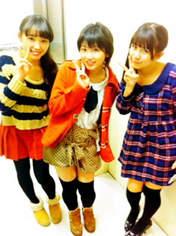 blog,   Nakajima Saki,   Okai Chisato,   Takeuchi Akari,