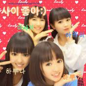 Iikubo Haruna,   Ishida Ayumi,   Kudo Haruka,   Sato Masaki,