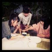 blog,   Iikubo Haruna,   Kudo Haruka,   Sato Masaki,