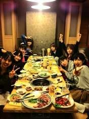 blog,   Iikubo Haruna,   Kudo Haruka,   Michishige Sayumi,   Mitsui Aika,   Niigaki Risa,   Sato Masaki,   Sayashi Riho,   Tanaka Reina,