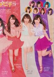 Iwasa Misaki,   Kikuchi Ayaka,   Magazine,   Oota Aika,   Urano Kazumi,   Watarirouka Hashiritai,