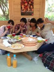 blog,   Fukuda Kanon,   Nakanishi Kana,   Takeuchi Akari,   Wada Ayaka,
