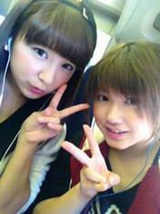 blog,   Fukuda Kanon,   Takeuchi Akari,
