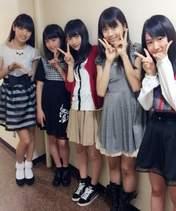 Haga Akane,   Iikubo Haruna,   Makino Maria,   Nonaka Miki,   Ogata Haruna,