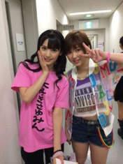 blog,   Michishige Sayumi,   Takeuchi Akari,