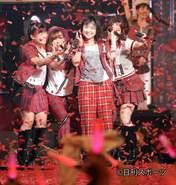 Fukumura Mizuki,   Iikubo Haruna,   Ikuta Erina,   Sayashi Riho,   Suzuki Kanon,