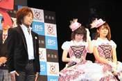 Kanazawa Tomoko,   Miyamoto Karin,   Tsunku,