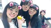 Aikawa Maho,   blog,   Kamikokuryou Moe,   Nakanishi Kana,   Takeuchi Akari,