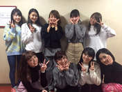 ANGERME,   Kamikokuryou Moe,   Kasahara Momona,   Katsuta Rina,   Murota Mizuki,   Nakanishi Kana,   Nakazawa Yuko,   Sasaki Rikako,   Takeuchi Akari,   Wada Ayaka,