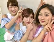 Nakanishi Kana,   Sasaki Rikako,   Takeuchi Akari,