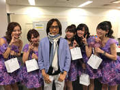 C-ute,   Hagiwara Mai,   Nakajima Saki,   Okai Chisato,   Suzuki Airi,   Tsunku,   Yajima Maimi,
