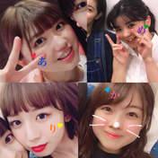 blog,   Kamikokuryou Moe,   Katsuta Rina,   Nakanishi Kana,   Sasaki Rikako,   Takeuchi Akari,   Tamura Meimi,
