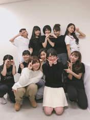 ANGERME,   Funaki Musubu,   Kamikokuryou Moe,   Kasahara Momona,   Katsuta Rina,   Kawamura Ayano,   Miyamoto Karin,   Murota Mizuki,   Nakanishi Kana,   Sasaki Rikako,   Takeuchi Akari,   Wada Ayaka,