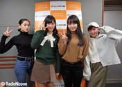 Kasahara Momona,   Kawamura Ayano,   Sasaki Rikako,   Takeuchi Akari,