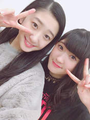 Akiyama Mao,   blog,   Kawamura Ayano,