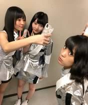 Kishimoto Yumeno,   Ogata Haruna,   Ogata Risa,