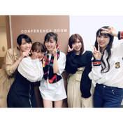 Iikubo Haruna,   Okai Chisato,   Suzuki Airi,   Takeuchi Akari,   Yajima Maimi,