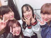Iikubo Haruna,   Okai Chisato,   Takeuchi Akari,   Yajima Maimi,