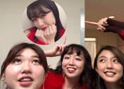 Katsuta Rina,   Mano Erina,   Nakanishi Kana,   Takeuchi Akari,
