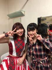 Michishige Sayumi,   Takeuchi Akari,