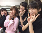 Hagiwara Mai,   Makino Maria,   Nakajima Saki,   Yajima Maimi,