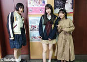 Funaki Musubu,   Kasahara Momona,   Sasaki Rikako,