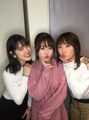 Hirose Ayaka,   Kudo Haruka,   Ozeki Mai,
