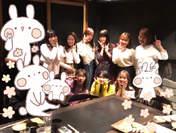 Fukumura Mizuki,   Iikubo Haruna,   Ishida Ayumi,   Kudo Haruka,   Michishige Sayumi,   Oda Sakura,   Sato Masaki,   Sayashi Riho,