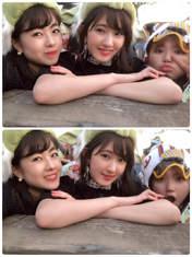 Kawamura Ayano,   Nakanishi Kana,   Takeuchi Akari,