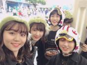 Kawamura Ayano,   Murota Mizuki,   Sasaki Rikako,   Takeuchi Akari,