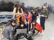 Fukumura Mizuki,   Haga Akane,   Ishida Ayumi,   Makino Maria,   Morito Chisaki,   Nonaka Miki,   Sato Masaki,