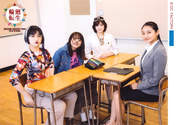 Kawamura Ayano,   Murota Mizuki,   Sasaki Rikako,   Wada Ayaka,