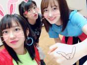 Haga Akane,   Morito Chisaki,   Nonaka Miki,