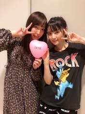 Fukumura Mizuki,   Michishige Sayumi,