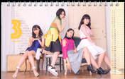 Kasahara Momona,   Murota Mizuki,   Sasaki Rikako,   Wada Ayaka,