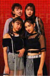 Murota Mizuki,   Nakanishi Kana,   Sasaki Rikako,   Takeuchi Akari,