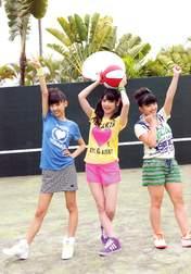 Iikubo Haruna,   Michishige Sayumi,   Suzuki Kanon,
