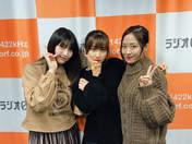 Haga Akane,   Oda Sakura,   Sato Masaki,