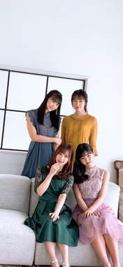 Danbara Ruru,   Inaba Manaka,   Kudo Yume,   Matsunaga Riai,